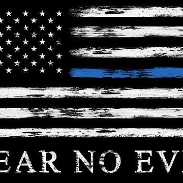 Blue Line - Fear No Evil by zingarostudios