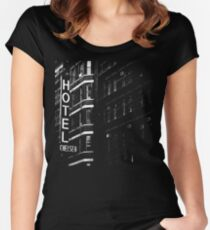 Hotel Chelsea #1 Women's Fitted Scoop T-Shirt