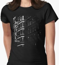 Hotel Chelsea #1 Women's Fitted T-Shirt
