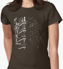 Hotel Chelsea #1 Womens Fitted T-Shirt