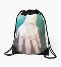 A handy suit Drawstring Bag