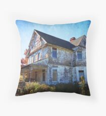 Evacuated Throw Pillow