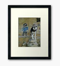 Lobo Bandito Framed Print