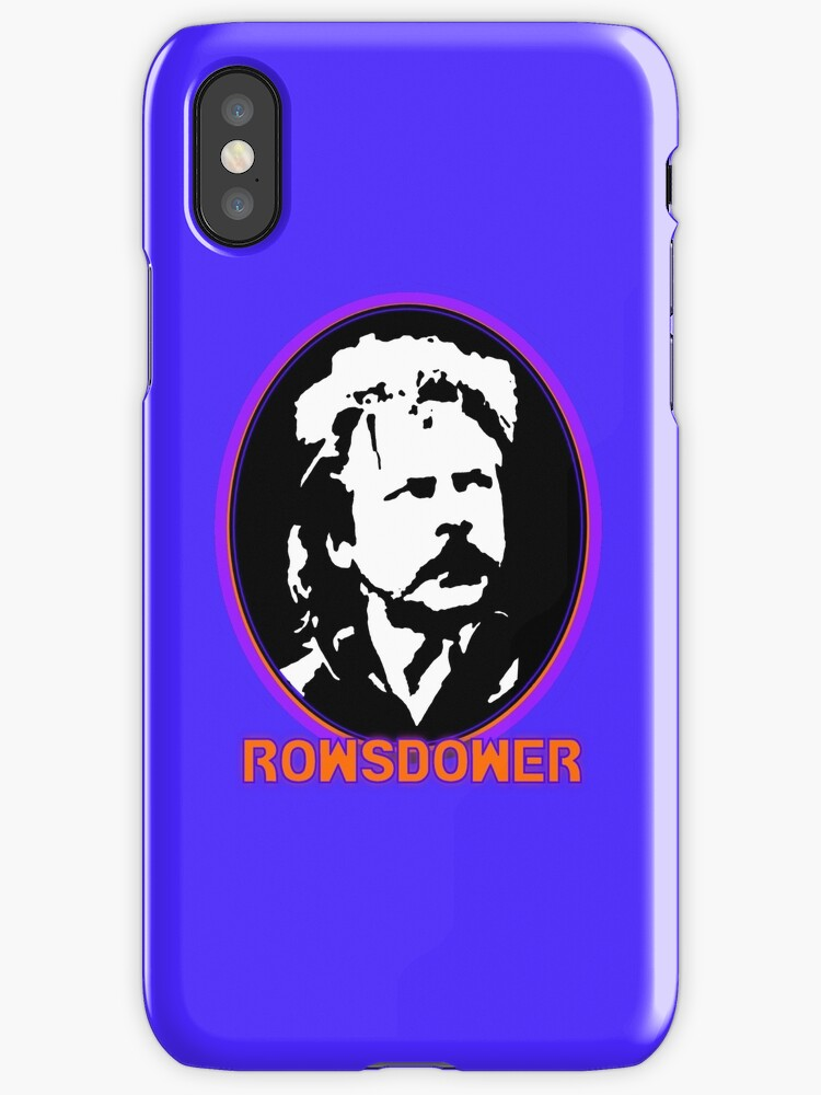 Rowsdower! phone case by Margaret Bryant