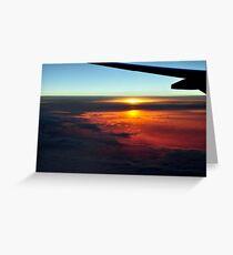 Beautiful Sunrise/Sunset Greeting Card