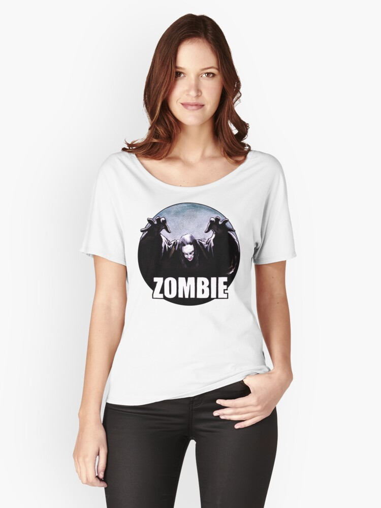 ZOMBIE Women's Relaxed Fit T-Shirt Front