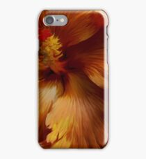 Russet Hibiscus-Kew Gardens London iPhone Case/Skin