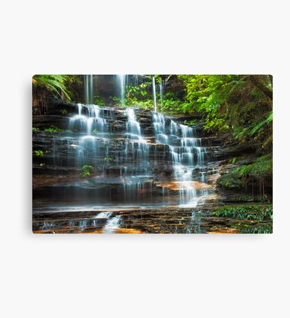 Tiers of Junction Falls Canvas Print