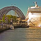 Tale of Two Bridges  - Oriana's and Sydney's by TonyCrehan