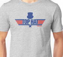 Top Hat (Star-Burns) Unisex T-Shirt