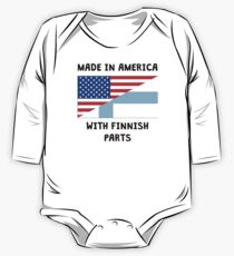 Made In American With Finnish Parts One Piece - Long Sleeve