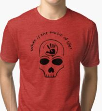Silence, my brother.  Tri-blend T-Shirt
