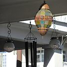 Lanterns & chimes by Mike Shell