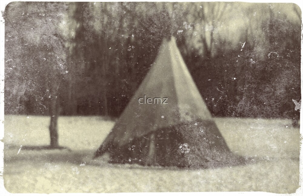 Tepee of the old cloud by clemz