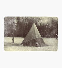 Tepee of the old cloud Photographic Print