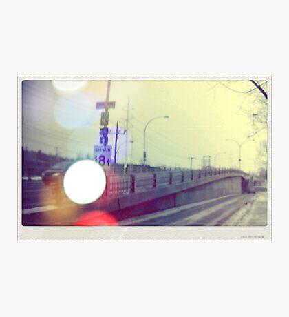 Autobahn Photographic Print