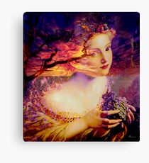 DESERT MUSE Canvas Print
