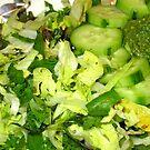 Pesto on greens @mcgreens by D. D.AMO