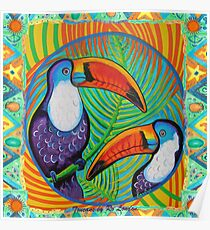 Toucans Poster