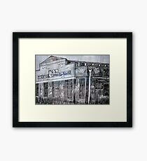 Spotswood Rail Building  Framed Print