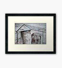 Old Shed, Spotswood  Framed Print