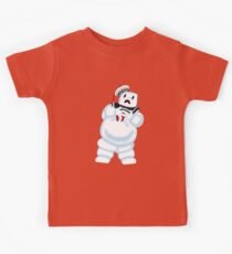 Scared Mr. Stay Puft. Kids Tee
