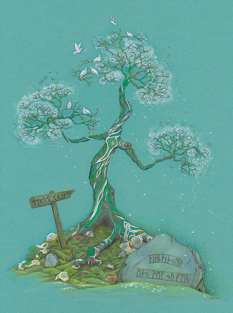 The Wish-tree of Tiggua Cobaucc by Gill Rippingale