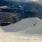 Skiing down the Nordkette by Hugh Chaffey-Millar
