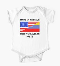 Made In American With Venezuelan Parts One Piece - Short Sleeve