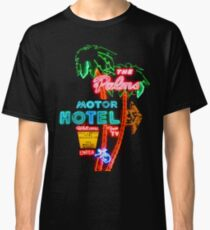 Palms Hotel Motel Neon Sign Retro Classic T-Shirt