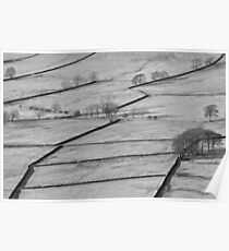 Dry Stone Walls Poster