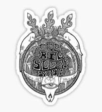 The Big Sleep Sticker
