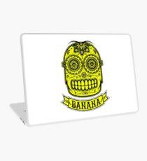 Minion Banana Sugar Skull Laptop Skin