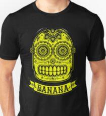 Minion Banana Sugar Skull Unisex T-Shirt