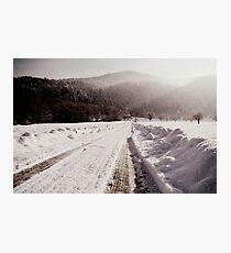 Winter Ways Photographic Print