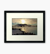 Bathed in sunlight Framed Print