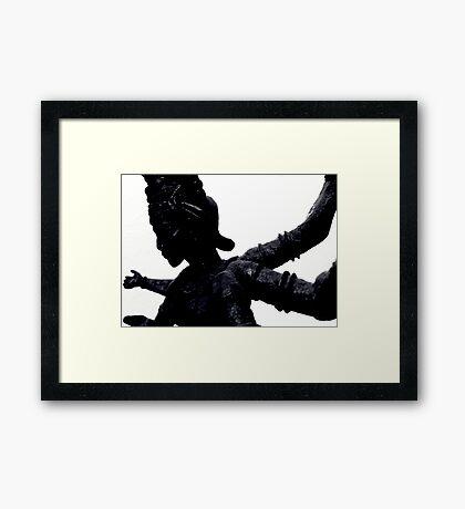 Kali Framed Print