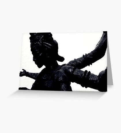 Kali Greeting Card