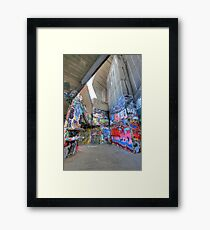 South Bank Skate Park Framed Print