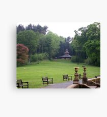 Gardens at Culzean Canvas Print