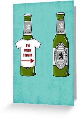 I'm With Stupid by weRsNs