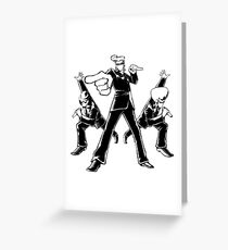 Elite Beat Agents Greeting Card