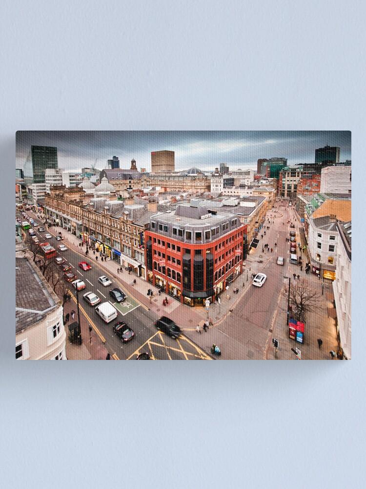 Alternate view of Manchester City Centre Canvas Print