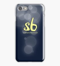 sbpodcast blue bubbles iPhone Case/Skin