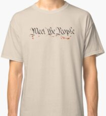 Meet The People - Marvin Sunk Classic T-Shirt