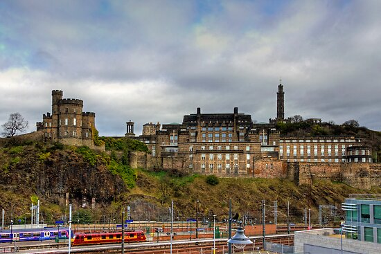 On top of Calton Hill by Tom Gomez