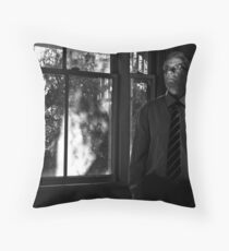 dreams & suburban myth (winters day)  Throw Pillow