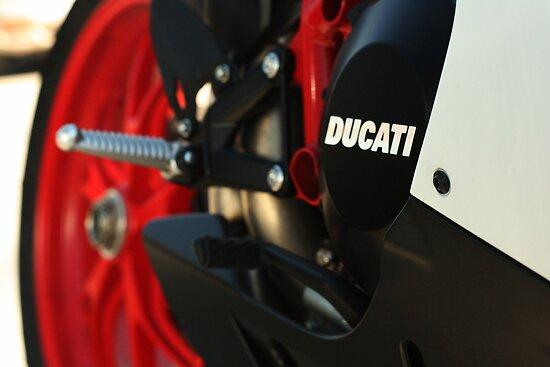 DUCATI 848 EVO - Swing Arm by Daniel  Oyvetsky