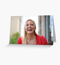 Holly Laughs RO Greeting Card
