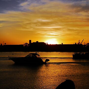 Sunset,Long Beach,California by vmgh